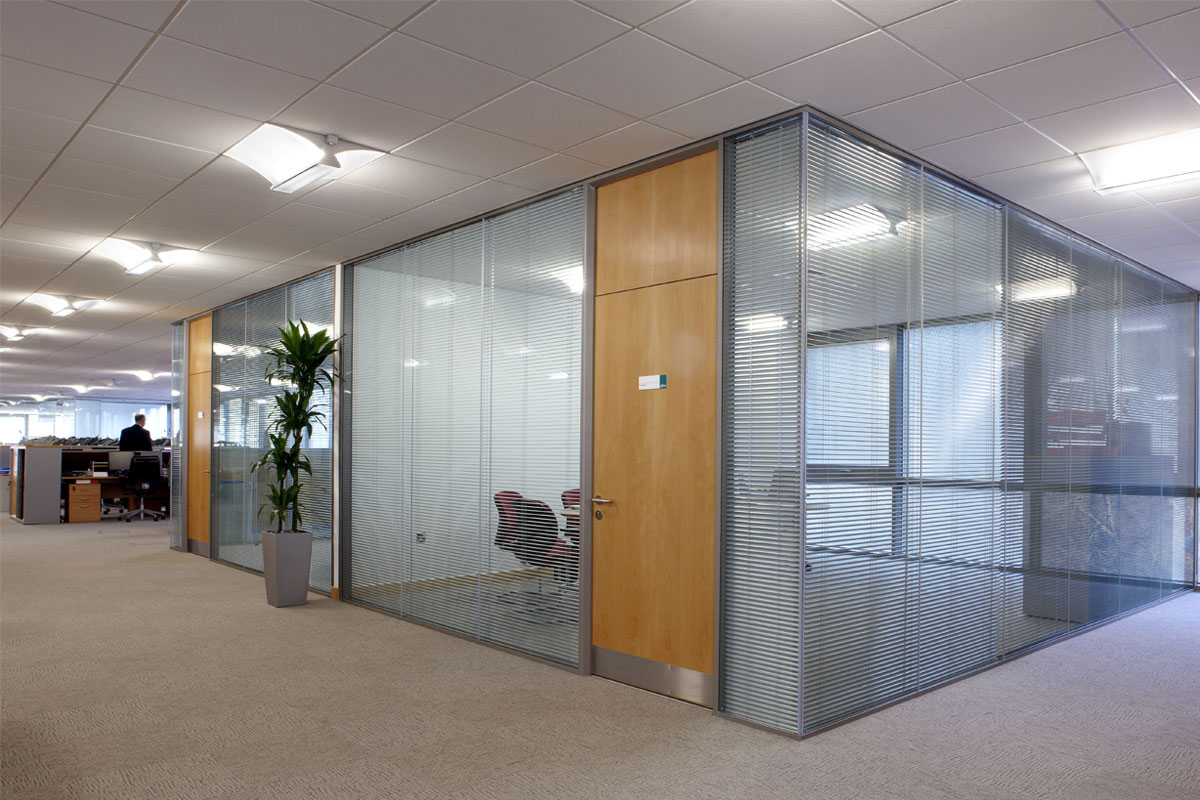 Clearwall SG Office Partition